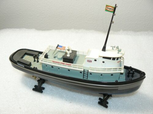 """2000 Texaco """"Fire Chief"""" Tugboat Bank Diecast As-Is"""