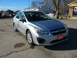 2012 Subaru Impreza awd !!CERTIFIED!!WARRANTY!!FINANCING!!