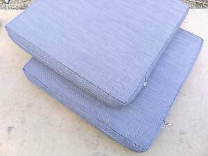 TWO OUTDOOR CHAIR CUSHIONS  - $12 FOR THE TWO Nambour Maroochydore Area Preview