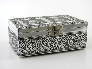 Schmuckdose Schatulle Schmuckkästchen Schmuck Dose Geschenkbox Metall Buddha