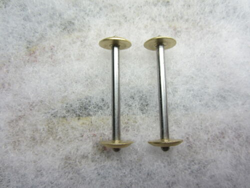 2 National / Eldredge Sewing Machine Bobbins, Shop Made