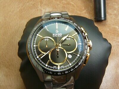 Rado HyperChrome Chronograph Automatic Brown Dial Men's Watch R32175302