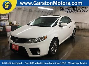 2011 Kia Forte Koup SX*COUPE*LEATHER*POWER SUNROOF*PHONE CONNECT