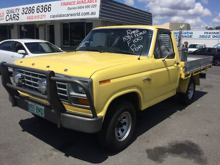 1981 Ford F100 Trayback Ute Collectors Car