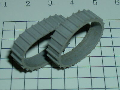 Replacement Tractor Treads for Matchbox Lesney 49a Army Half-track model grey for sale  Shipping to India