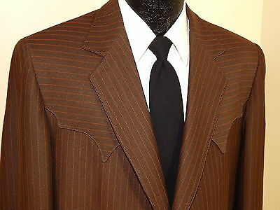NOS Vtg TREGO'S $189 Men Jacket COWBOY WESTERN Sport Coat ROCKABILLY Blazer 44 L