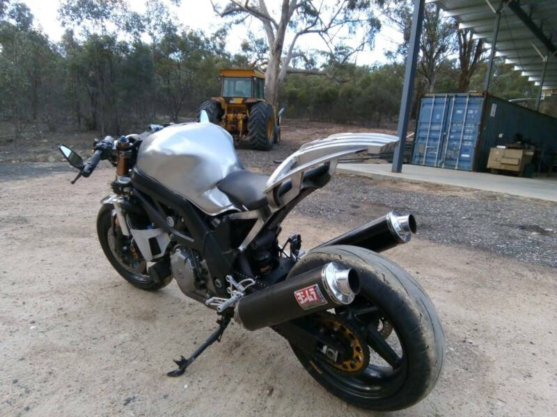 Supercharged SV1000 | Motorcycles | Gumtree Australia