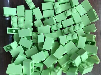 LEGO- BRAND NEW- #3004-1 x 2 YELLOWISH GREEN-50 BRICKS