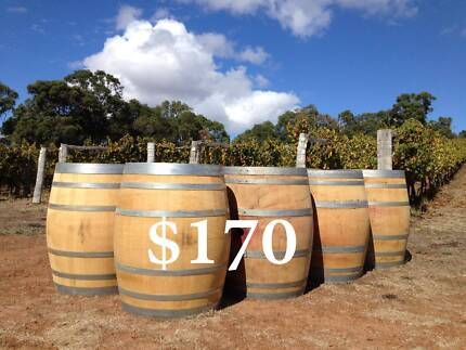 FRENCH OAK WINE BARRELS FROM MARGARET RIVER Salter Point South Perth Area Preview
