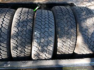 5x 4wd Tyres 245/ 75  R17 Geraldton Geraldton City Preview