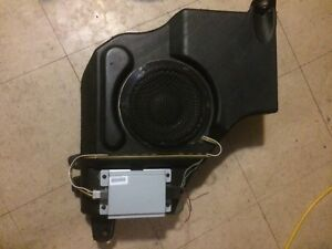"""8"""" Boston Audio sub and amp out of Jeep Compass"""