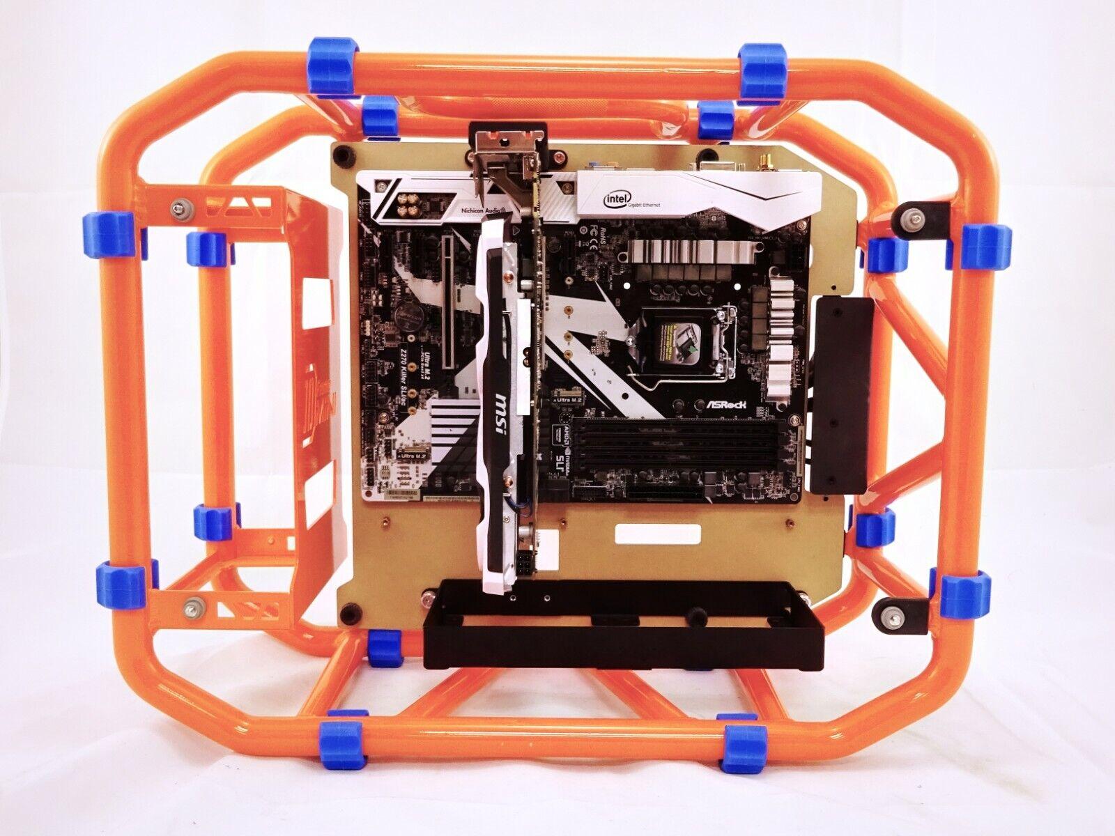 как выглядит MunkyMods In-Win Mini D-Frame Custom ATX Motherboard Mounting Tray Inwin Dframe фото