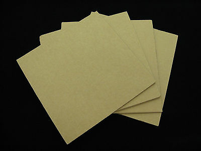 100 - 7.5 X 7.5 Corrugated Filler Pads For 45 Rpm Record Mailers - Ships Free