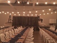Rustic country wedding decorations for rent