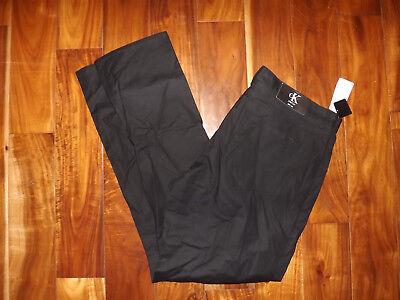 对于出售 NWT Mens Calvin Klein Black Stretch Slim Fit Jeans Pants 36 W 30 L