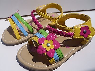 Cute Toddler Girls (New Cute  Yellow Sandals For Toddler)