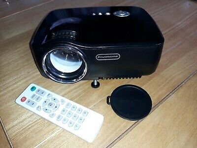 HD Mini Portable Projector and a 4.6m HDMI Cable