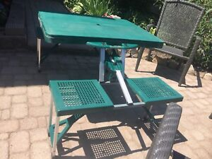 Folding  4 person picnic table SOLD