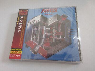 Accept - Metal heart JAPAN CD NEU OVP