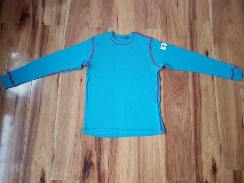 Janus Scandinavian Thermal 100% Merino Wool Baselayer Top Size 7-8 Years