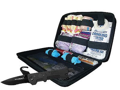 StatGear Auto Survival Kit w/ T3 Auto Rescue Tool, Emergency First Aid car kit ()