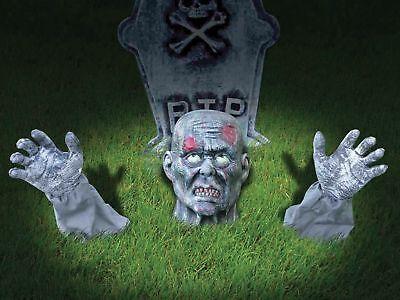 Halloween Horror Life Sized Zombie Ground Breaker Party Prop ()