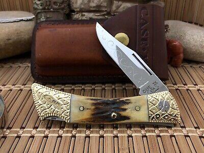 Case XX Amazing Custom Genuine STAG Filework XX Changer AAA+++ Lockback Knife #3