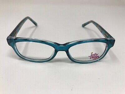Jelly Bean JB150 By Idealoptics Eyeglass Kids Youth 46-15-130 Blue Green RZ06