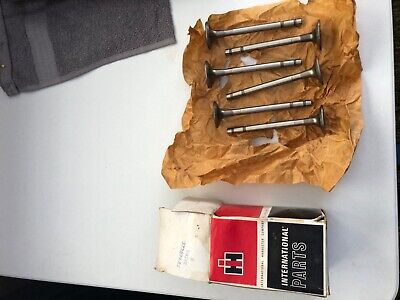 International Farmall Tractor Nos Exhaust Valve Set 372699r3 460560656706756