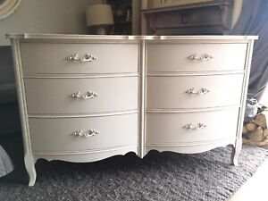 Delivery-beautiful antique French provincial dresser refinished