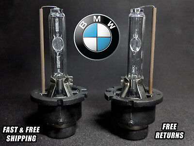 OE HID Headlight Bulb For BMW 330 2002-2006 High & Low Beam Stock Fit Qty 2