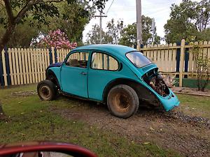 Vw beetle project Volkswagen bug buggy baja Abermain Cessnock Area Preview