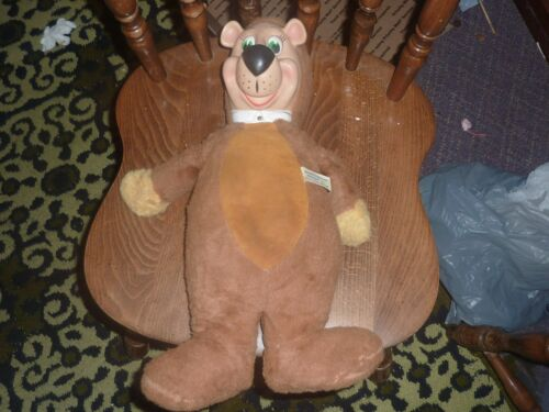 Vintage KnickerBocker Yogi Bear Plush Bear Animal Hanna Barbera Rare
