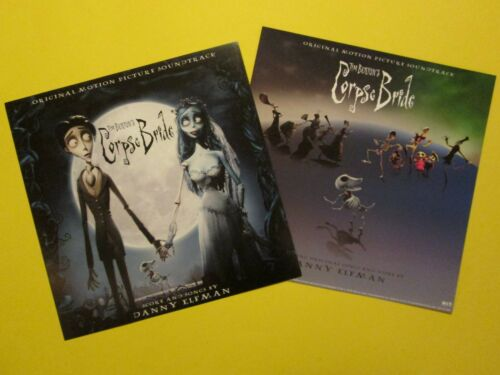 "Two The Corpse Bride 12"" Promo Poster Flat Tim Burton Danny Elfman Soundtrack"