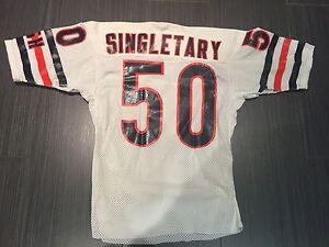 Game worn Mike Singletary Chicago Bears Jersey