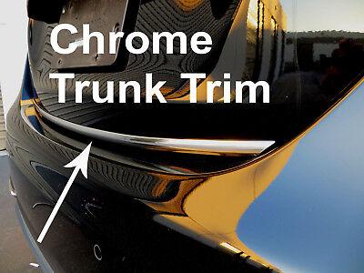 Fit MiniModels 2002-2019 Tailgate TRUNK Trim Molding - CHROME Style