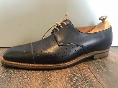 John Lobb Lace Ups, Navy, Excellent Condition, Barely Worn, Size 10 E UK