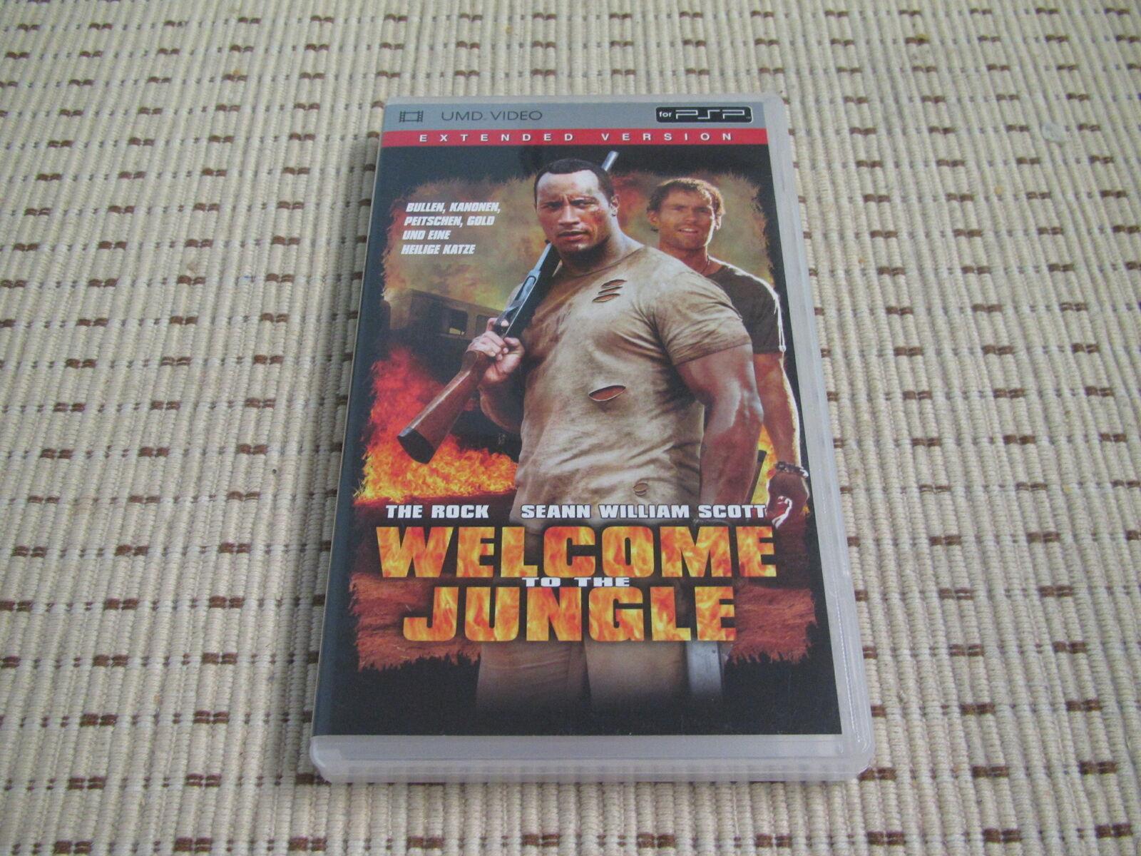 Welcome to the Jungle Film UMD für Sony PSP *OVP*