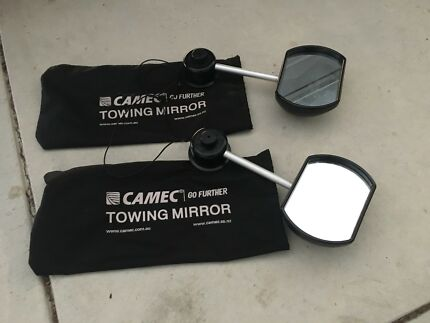Camec caravan towing mirrors