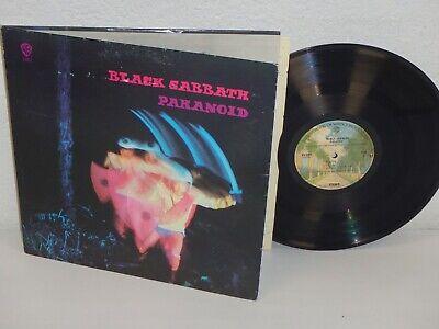 BLACK SABBATH Paranoid 1972 LP Warner Bros BSK 3104 gatefold OZZY OSBOURNE