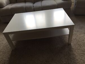 Coffee table and end tables and tv stand