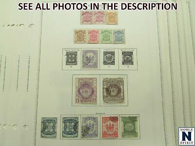 NobleSpirit No Reserve (RB) Terrific NORTH BORNEO 1886-1979 M&U Pages =$660+ CV!