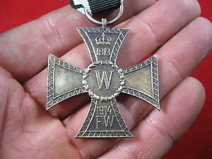 WWI German medal Memorial Iron cross for Fusiliers badge Prusian Imperial WW1 - Polska, Polska - WWI German medal Memorial Iron cross for Fusiliers badge Prusian Imperial WW1 - Polska, Polska