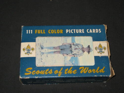 Scouts of the World Picture Card, Box set of 111 Cards, 1968     eB04