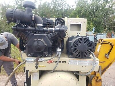 Air Compressor 30 Hp Ingersoll Rand 2 Stage Model 2000