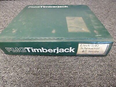 Timberjack 360 460 560 660 Skidder Electrical Wiring Schematic Diagram Manual