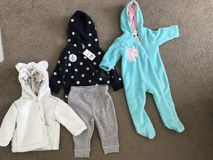 Girls winter clothing