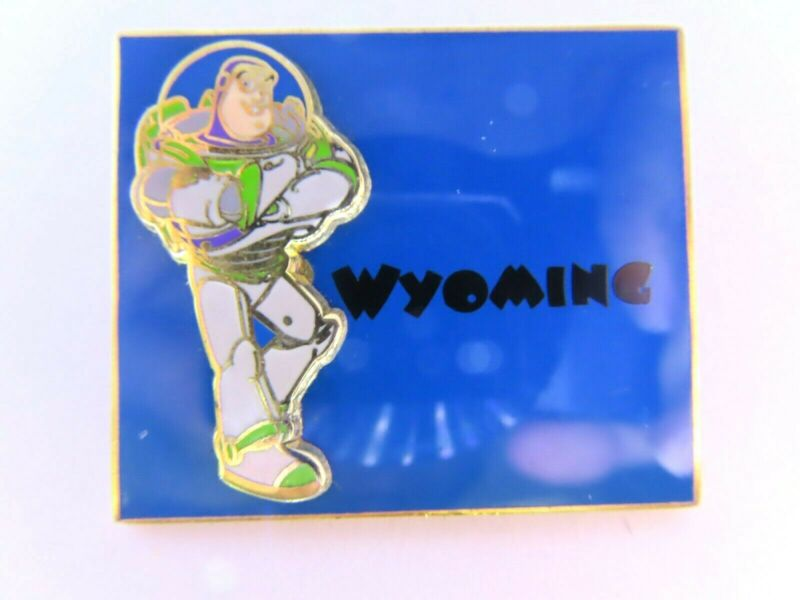 Disney Pin * State Character Wyoming Buzz Lightyear  #14962