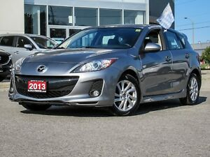2013 Mazda3 GS-L Skyactiv Luxury Pkg Leather Moonroof