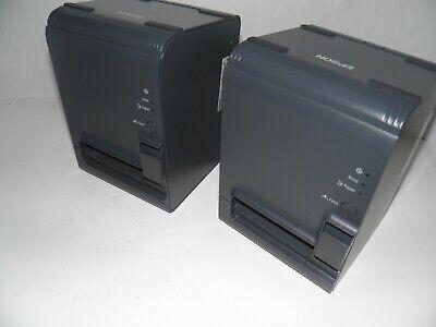 New Epson Tm-l90 M313a Thermal Pos Label Receipt Printer Serialusb W Ac Adapter